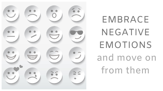 embrace negative emotions